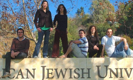 Students at the American Jewish University
